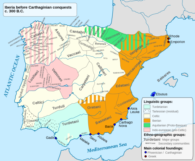 L2F Jan 17 pic Spain Iberians ancient ethnic map Wikipedia Alcides Pinto
