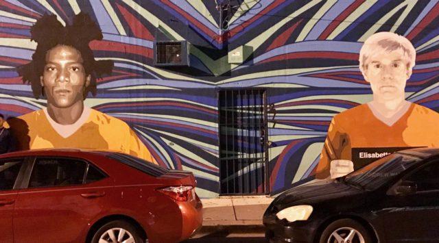 L2F Jan 17 pic USA Florida Miami Wynwood wall art Warhol Basquiat JAB