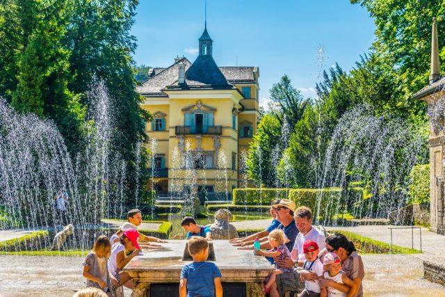 L2F Feb 17 pic Austria Salzburg Schloss Hellbrunn fountains shutterstock_550167406