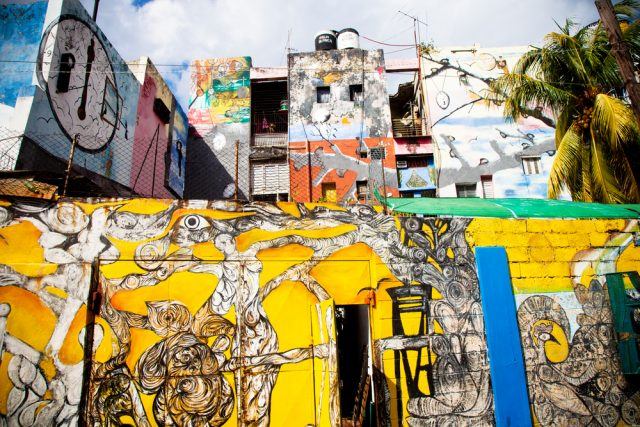 L2F Mar 17 pic Cuba Havana street art Callejon de Hamel shutterstock_128879407