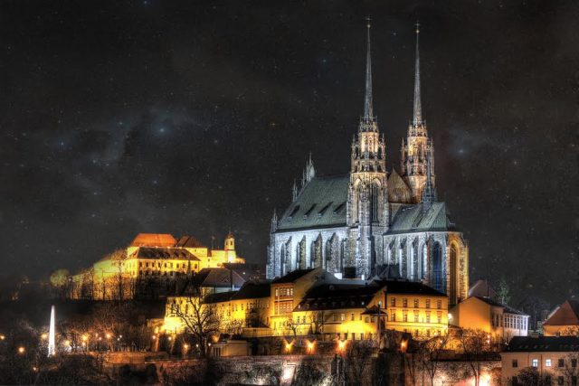 L2F Apr 17 pic Czech Brno Petrov Hill cathedral fortress Tomas Luka Shutterstock