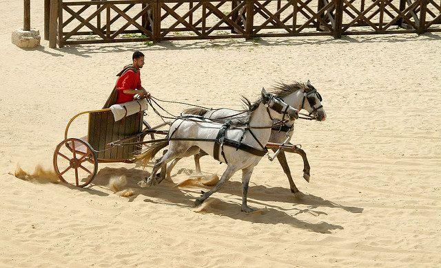 L2F Apr 17 pic Jordan Jerash Gerash chariot racer Flickr Rikdom