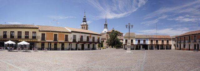 Segovia Square Navalcarnero Wines Madrid Spain