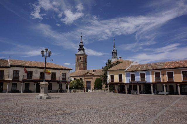 Segovia Square Navalcarnero Wines Spain Madrid