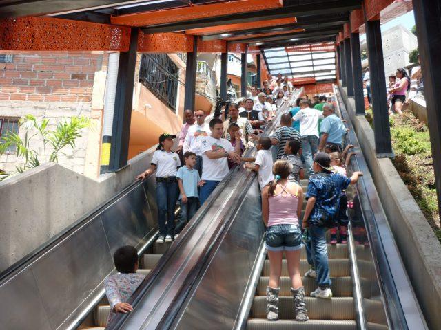 L2F Apr 17 pic Colombia Medellin escalators Telemedellin flickr