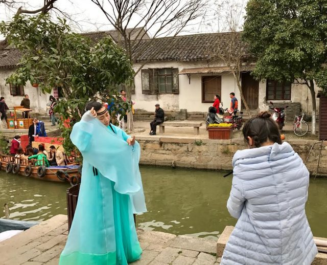 L2F May 17 China Shanghai water towns tourist photo session