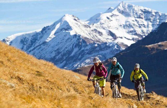 L2F May 17 pic Europe Alps mountain biking Austria St Anton hillside