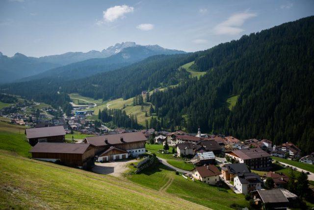L2F May 17 pic Europe Alps mountain biking Italy San Cassiano village