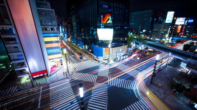 L2F May 17 pic Japan Palka Ginza intersection from above
