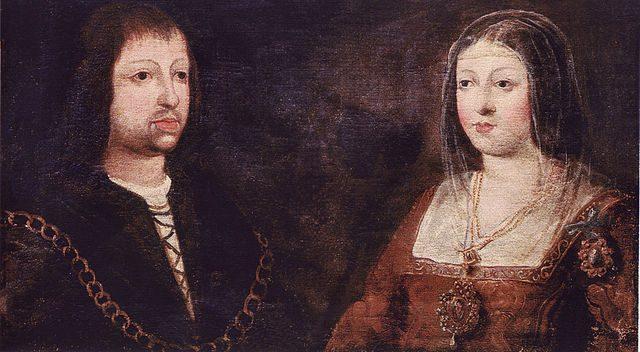 L2F May 17 pic Spain history kingdoms Ferdinand Isabel portrait