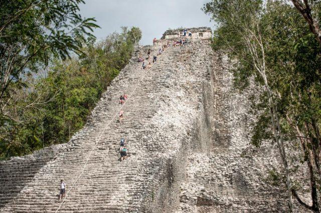 L2F Jun 17 pic Mexico Yucatan Cobá main temple