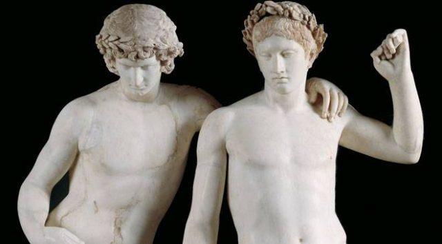 L2F June 17 pic Spain museums gay pride Prado Orestes Pylades