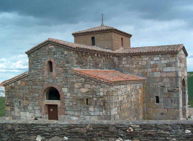 L2F Jul 17 pic Spain Visigoths Zamora San Pedro Nave