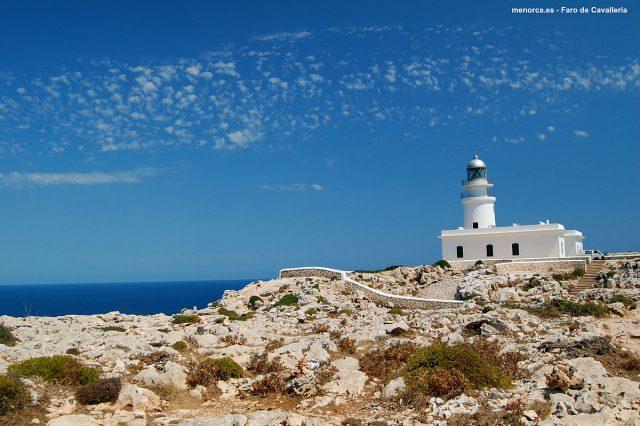 L2F Aug 17 pic Spain Balearic Islands Minorca lighthouses Far Cavalleria