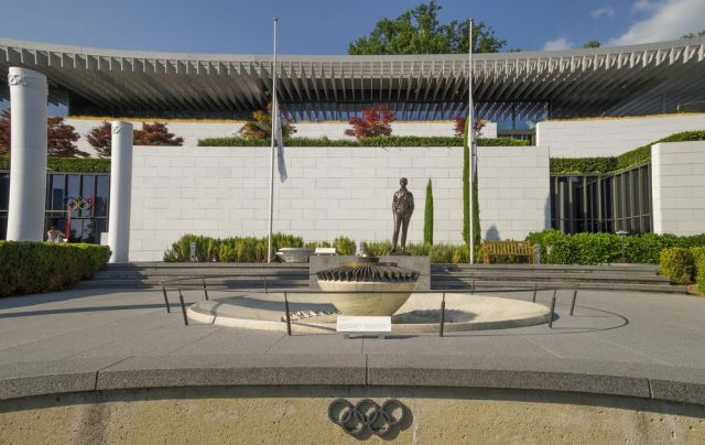 L2F Aug 17 pic Switzerland Lausanne Olympic Museum