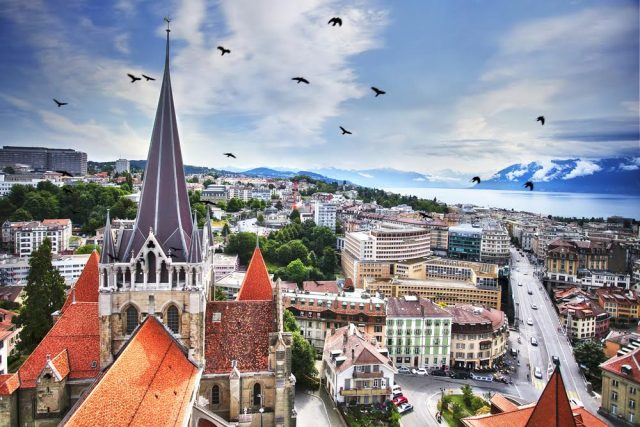L2F Aug 17 pic Switzerland Lausanne cityscape