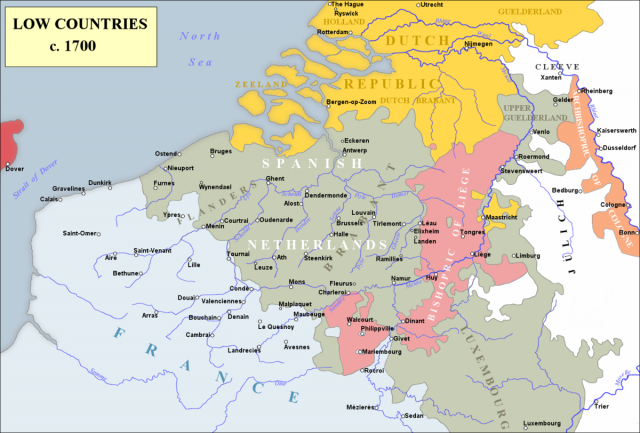 L2F Sep 17 pic Spanish history Netherlands Belgium