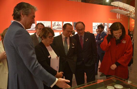 L2F Nov 17 pic Spain Madrid Iberia anniversary exhibition