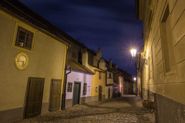 L2F Oct 17 pic Czech Prague haunted Halloween Golden Lane shutterstock_516667693