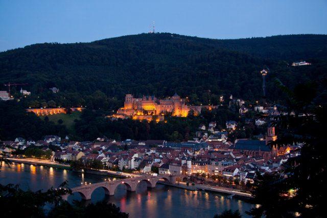 L2F Oct 17 pic Germany Baden Würtemburg castles Schloss Heidelberg