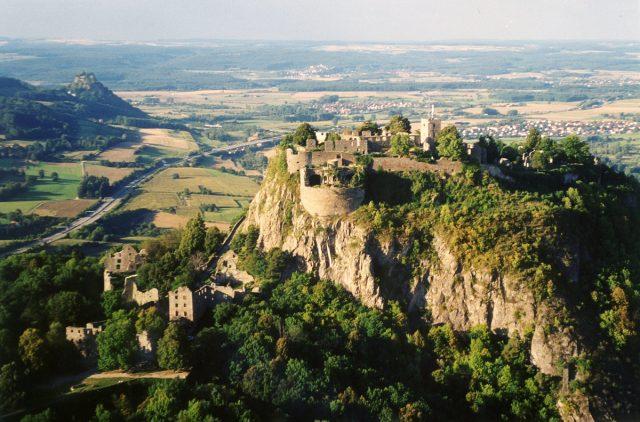 L2F Oct 17 pic Germany Baden-Wuertemburg castles gardens Hohentwiel Peter Stein