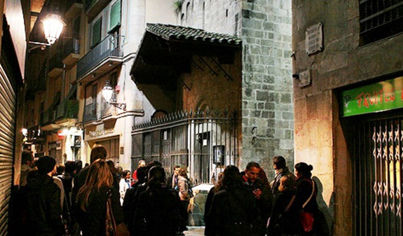 L2F Oct 17 pic Spain Barcelona ghosts groups