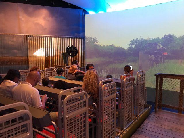 TBP pic USA FL Fort Lauderdale science museum airboat simulator