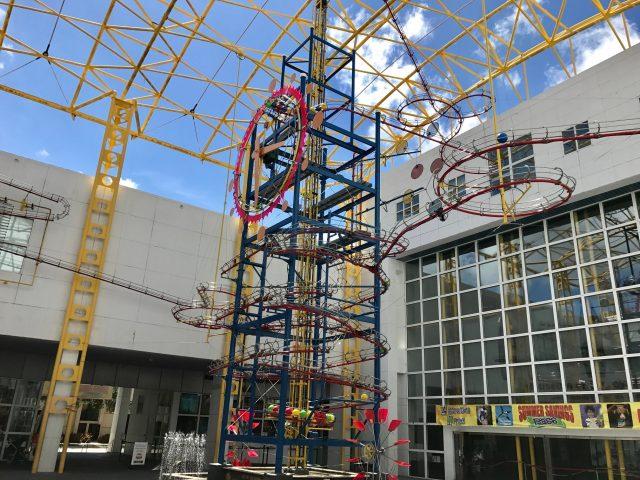 TBP pic USA FL Fort Lauderdale science museum gravity clock