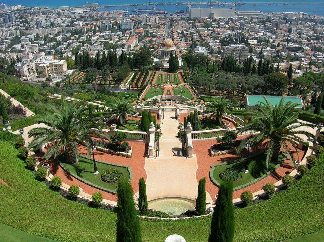 L2F Nov 17 pic Israel Haifa Bahai Gardens Wikipedia