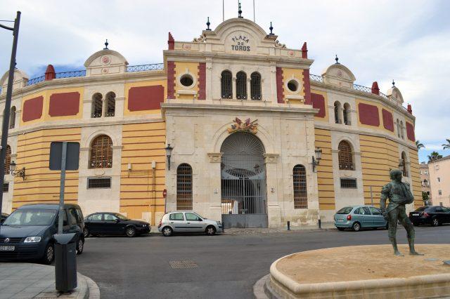 L2F Nov 17 pic Spain Almería Plaza de Toros bullring Gandy