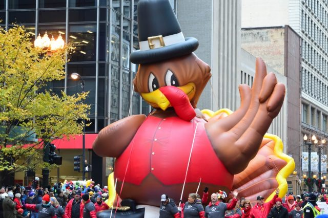 L2F Nov 17 pic USA Thanksgiving Chicago parade turkey balloon shutterstock_570437053