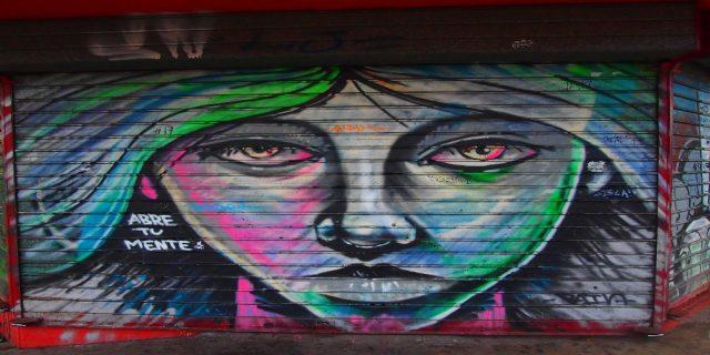 L2F Dec 17 pic Costa Rica San José street art female face abre tu mente