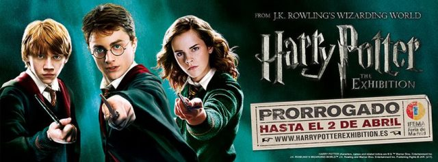 L2F Dec 17 pic Spain Madrid Harry Potter Exhibition
