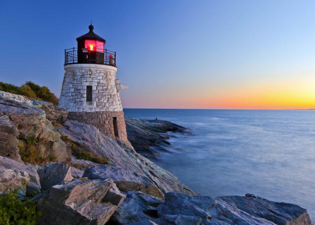L2F Jan 18 pic USA Rhode Island Newport lighthouse shutterstock_63899911