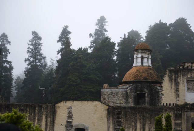 L2F Feb 18 pic Mexico City Desierto Leones convent with trees shutterstock_575652244