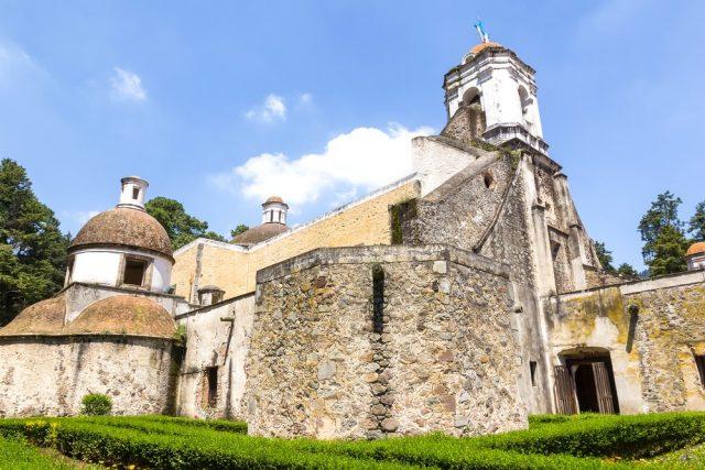 L2F Feb 18 pic Mexico City Desierto Leones monastery in sunshine shutterstock_307562735