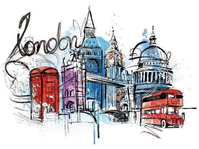 L2F Feb 18 pic UK England London vector illustration shutterstock_283672280