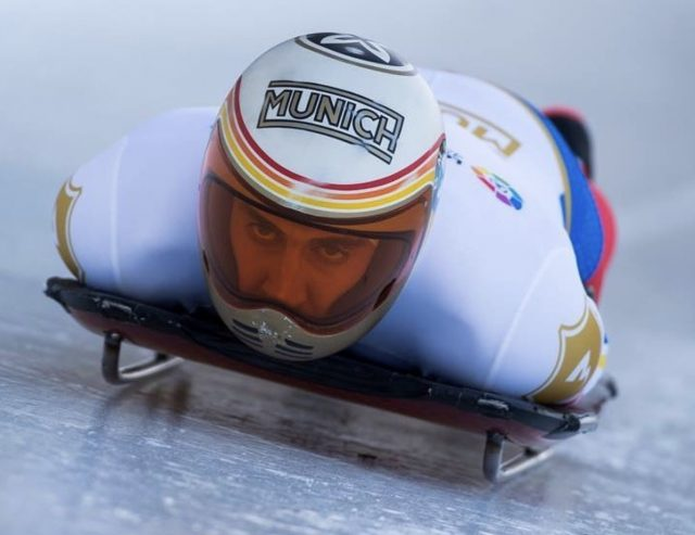 L2F Feb 18 pic Winter Olympics Team Spain Ambers Mirabell skeleton