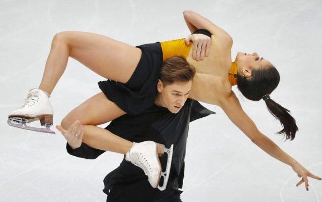 L2F Feb 18 pic Winter Olympics Team Spain Sara Hurtado ice dance