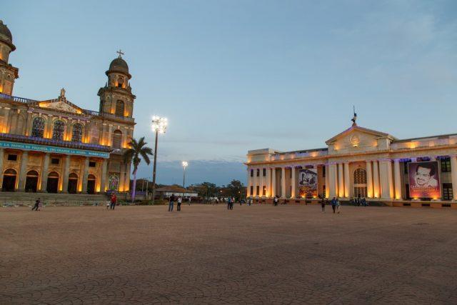 L2F Mar 18 pic Nicaragua Managua cathedral palacio nacional shutterstock_502770376