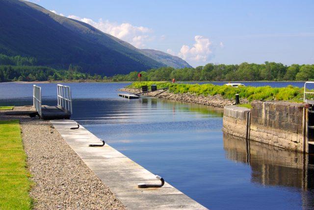 L2F Apr 18 pic UK Scotland Highlands Caledonian Canal shutterstock_179786495