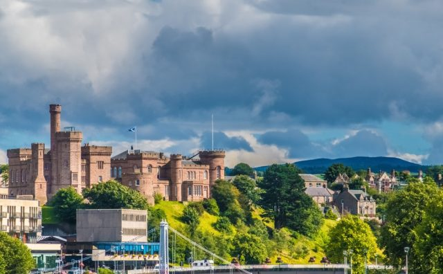 L2F Apr 18 pic UK Scotland Highlands Inverness Castle shutterstock_702168199