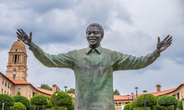 L2F Jun 18 pic South Africa Pretoria Mandela statue shutterstock_1083626543