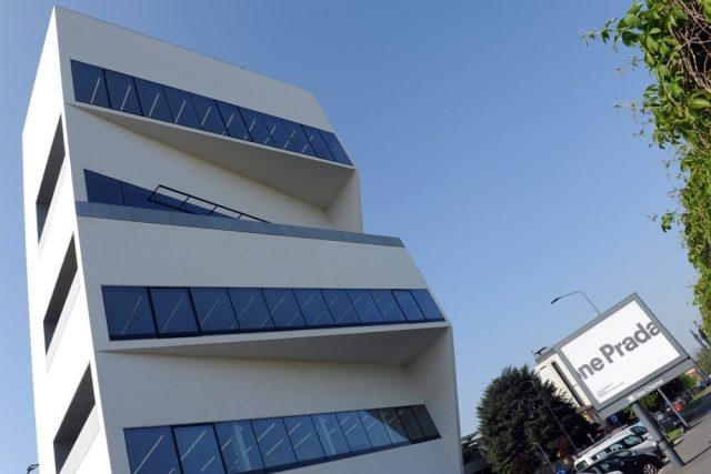 L2F May 18 pic Italy Milan Fondazione Prada new tower shutterstock_1072419659