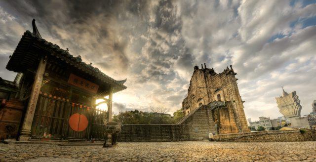 L2F Jun 18 pic China Macau temple church casino