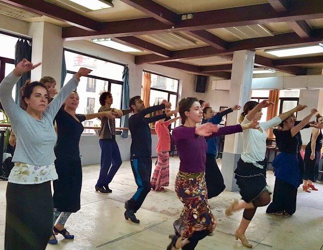 L2F Jun 18 pic Spain Madrid flamenco Amor de Dios class.jpeg