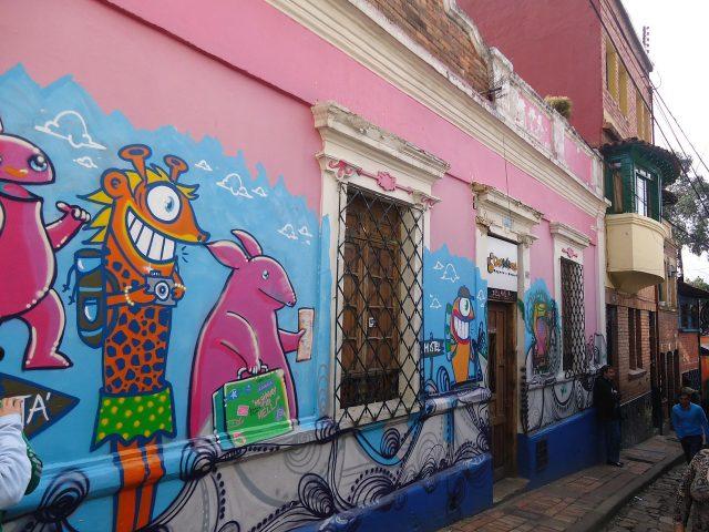 L2F Jul 18 pic Colombia Bogota Chorro de Quevedo street art Pixabay