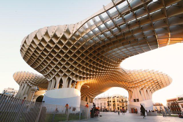 L2F Jul 18 pic Spain Seville Las Setas The Mushrooms shutterstock_711545485