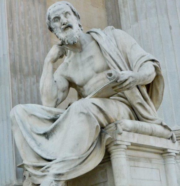 L2F Jul 18 pic travelers history Herodotus statue Pixabay