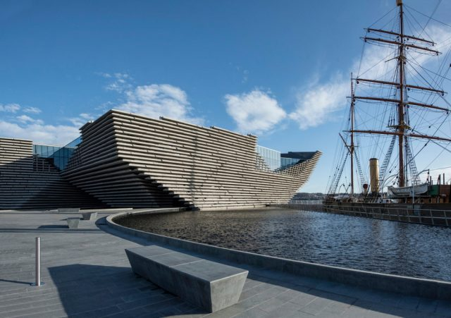 L2F Aug 18 pic Europe Lonely Planet UK Scotland Dundee V&A Design Museum shutterstock_1071592433